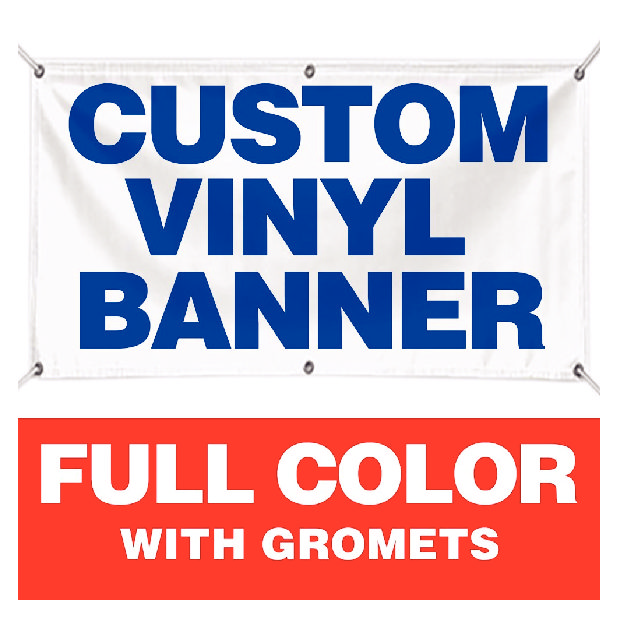 Oz Banner With Width Options Dunbar Printing And Graphics - Custom vinyl banners