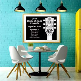 Wide Format poster
